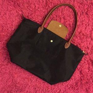 Black Longchamp Tote